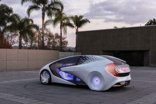 خودروی مفهومی ؛ خودروی شما می خواهد به شما سلام کند و این تازه شروع کار است .