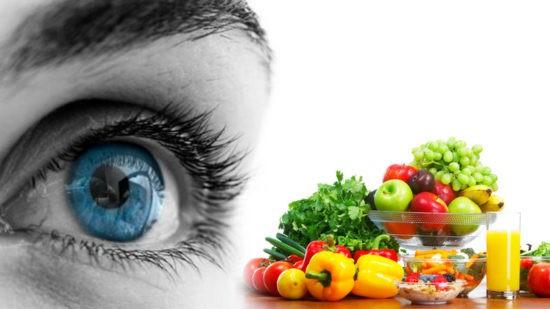اثر مواد غذایی در سلامت چشم