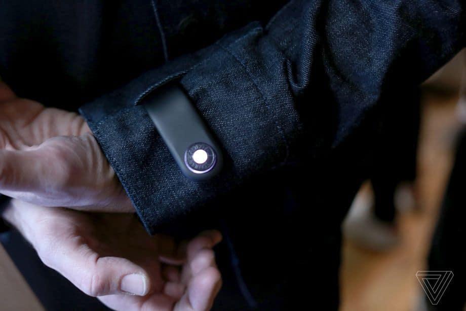 ژاکت هوشمند گوگل و Levi