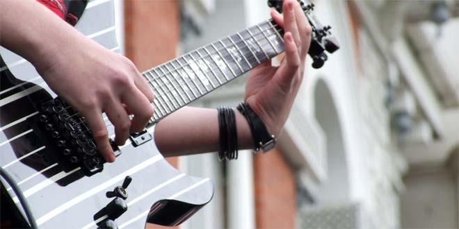 قسمت های اصلی یک گیتار الکتریک