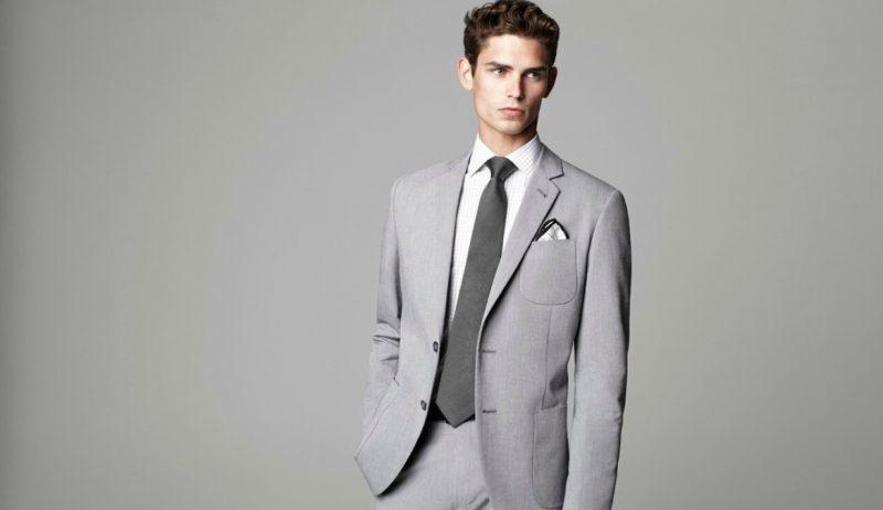 خرید آنلاین کت و شلوار برای آقایان، خاکستری روشن