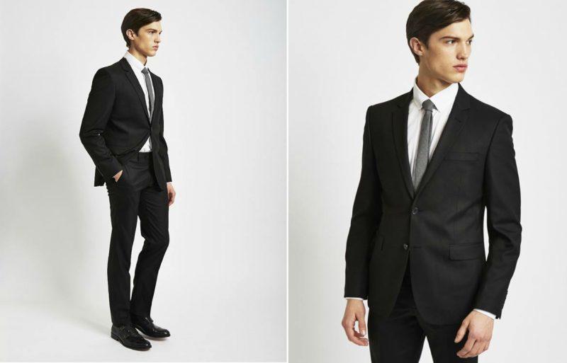 خرید آنلاین کت و شلوار برای آقایان، رنگ مشکی