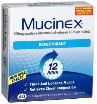یک داروی معروف برای درمان سرفه – موسینکس (Mucinex) یا گایفِنِسین (guaifenesin)