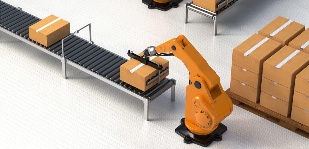 مدیریت زنجیره تامین و ربات ها در انبارداری