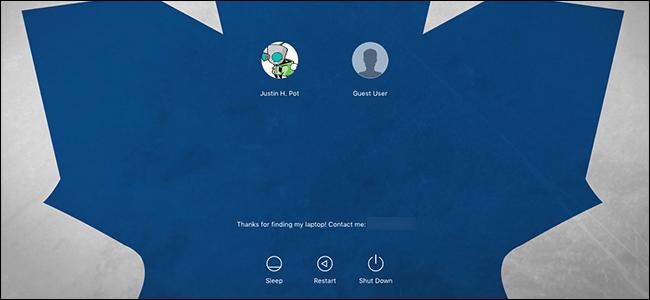 سفارشی سازی صفحه لاگین (login) در مک (mac)