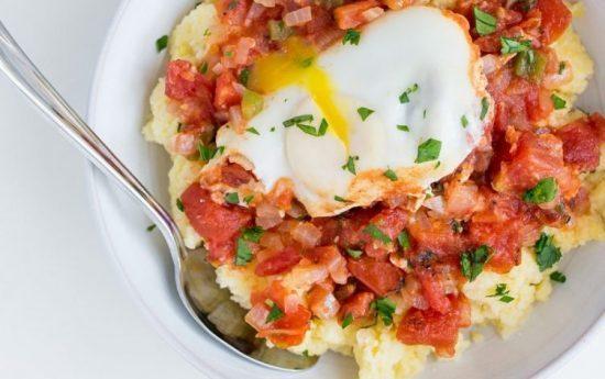 طرز تهیه تخم مرغ مدیترانه ای
