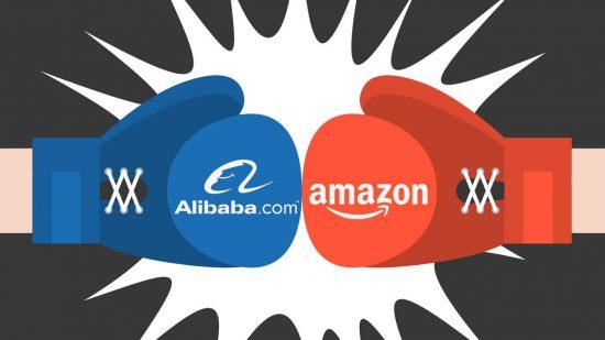 مقایسه دو شرکت بزرگ در حوزه تجارت الکترونیک – آمازون (Amazon) و علی بابا (Alibaba)