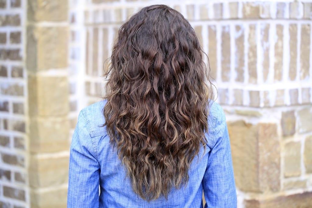 فرکردن موها به طور طبیعی با بافتن مو