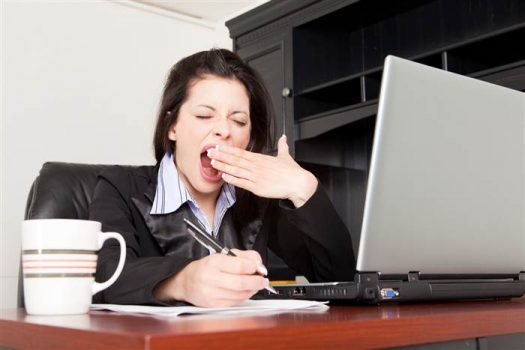 کمبود خواب و تاثیر بر کارآیی