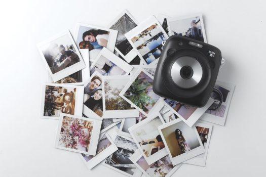 دوربین Instax Square SQ10 فوجی فیلم، ترکیبی از دوربین فوری / دیجیتالی است