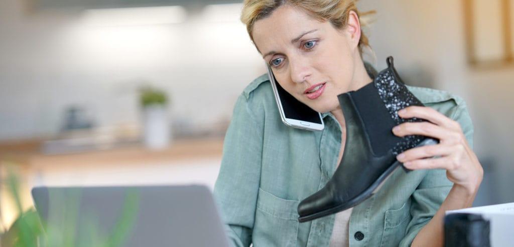 نکاتی در مورد برگشت محصولات از طرف مشتریان یک فروشگاه اینترنتی