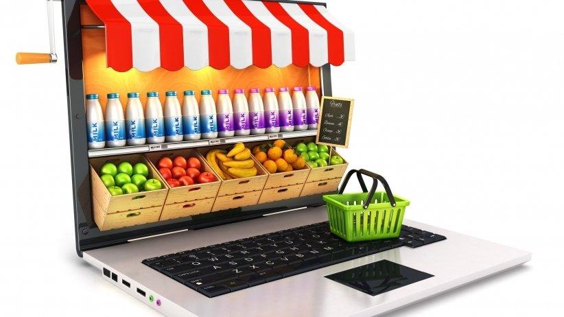 فروشگاه مواد غذایی اینترنتی یا خواربار فروشی اینترنتی