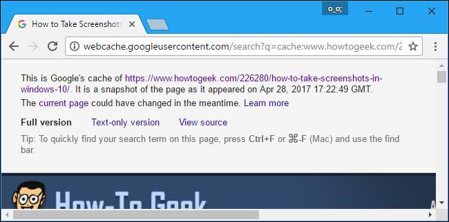 نحوهی دسترسی به صفحه وب در زمان عدم ارتباط با سرور