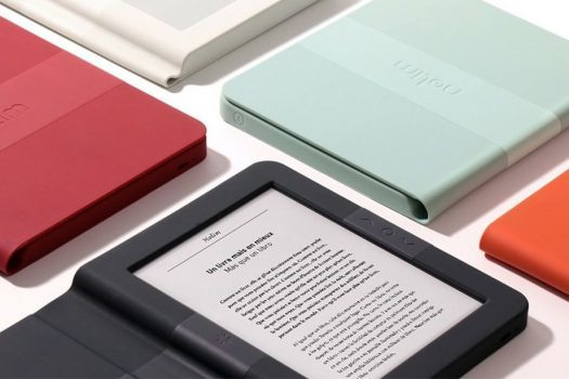 کتاب خوان الکترونیکی نولیم فرانسوی با قابهای هوشمند رنگی