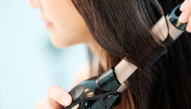 فر کردن موها برای تغییر مدل مو