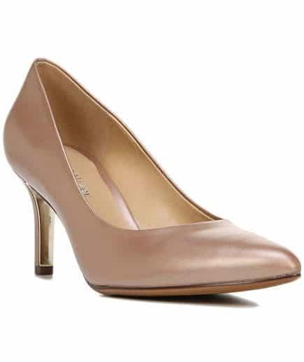 مدل کفش پاشنه بلند رنگ پا