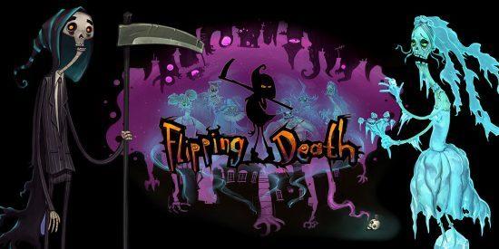 در بازی Flipping Death شخصیت دلخواه خود را بسازید و جایزه بگیرید