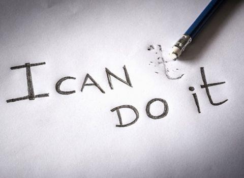 به جای ناامید شدن، خودتان را تشویق نمایید