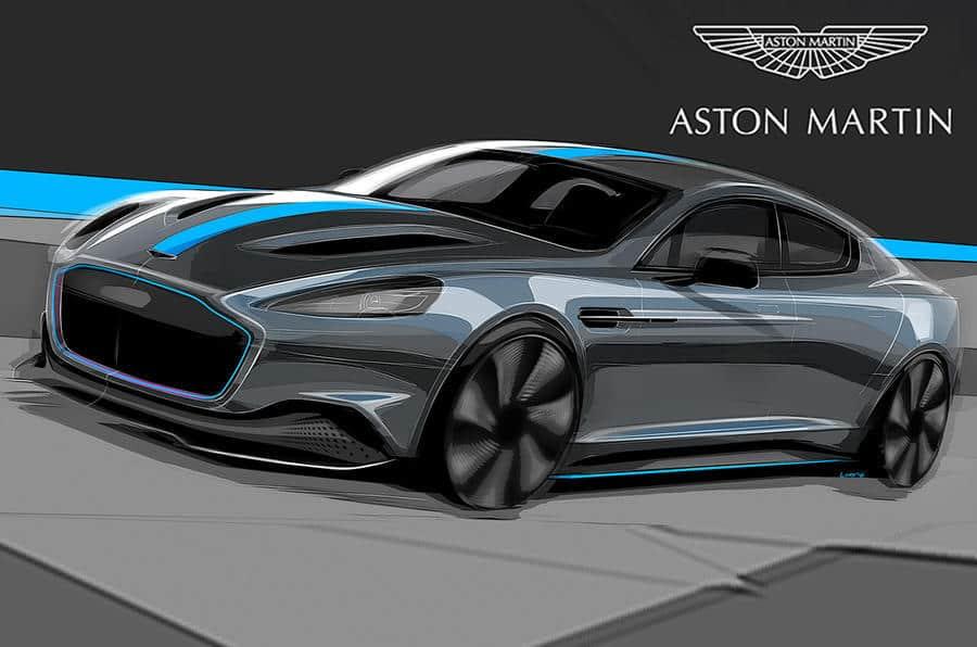 ورود آستون مارتین به دنیای خودروهای الکتریکی با تولید خودروی RapidE کلید خورد