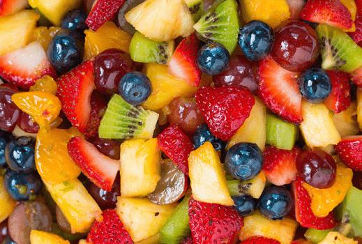 سالاد میوه بهترین مواد غذایی