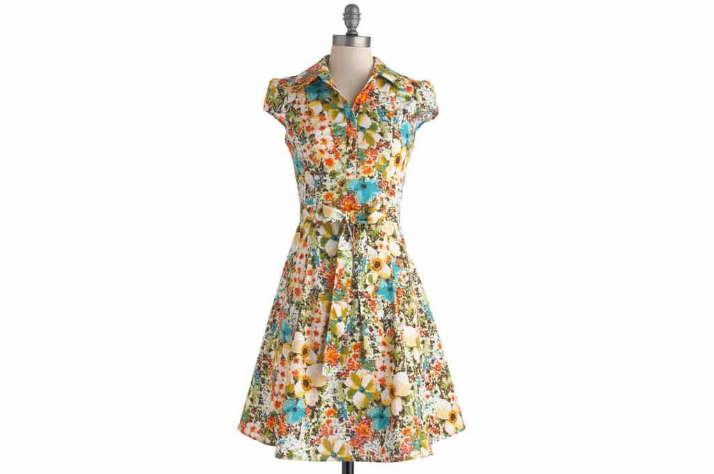 لباسهای گلدار مدل جدید تابستان سال 2017 را چگونه بپوشیم؟