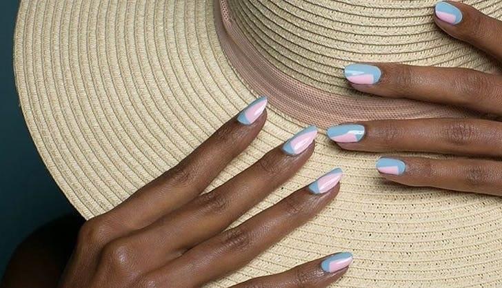 ناخنهای تابستانی و چند ایده جذاب و زیبا برای لاک زدن در تابستان