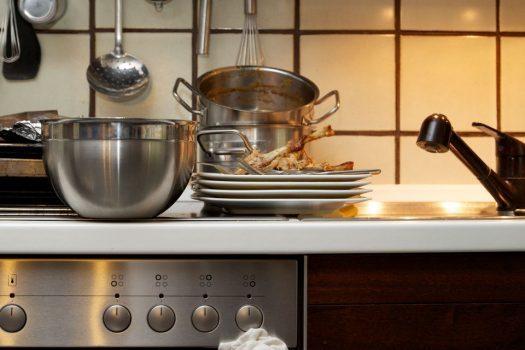 آشپزخانه قلب خانه، با نقاط آلودهی مخفی