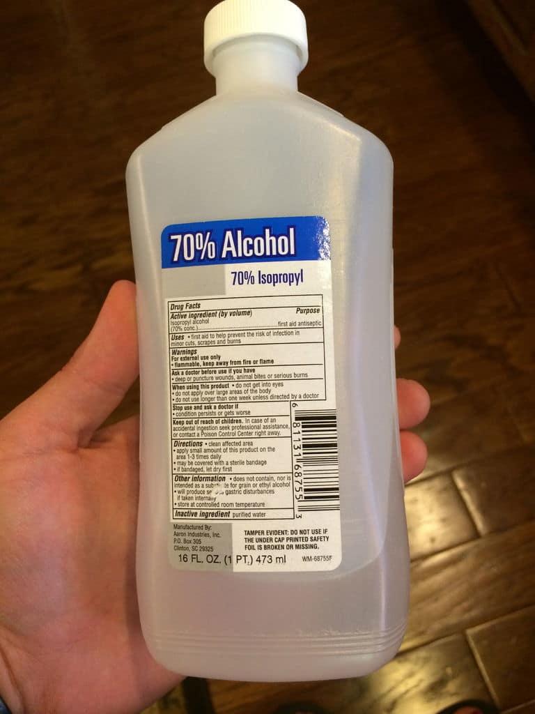 استفاده از الکل برای جلیقه سرد خلبانی