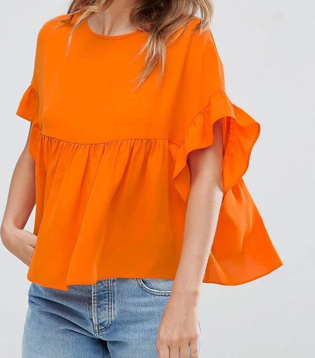 رنگ پرتقالی برای پوست برنزه