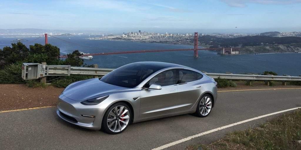 خودروی Model 3 تسلا