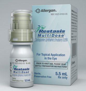 داروی رستاسیس (cyclosporine ophthalmic): نحوه عملکرد و عوارض جانبی