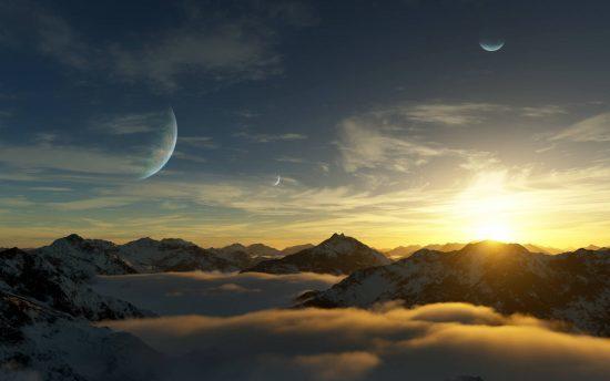 با زندگی در این سیارهی فراخورشیدی میتوانید صد و پنجاه هزار سال عمر کنید!