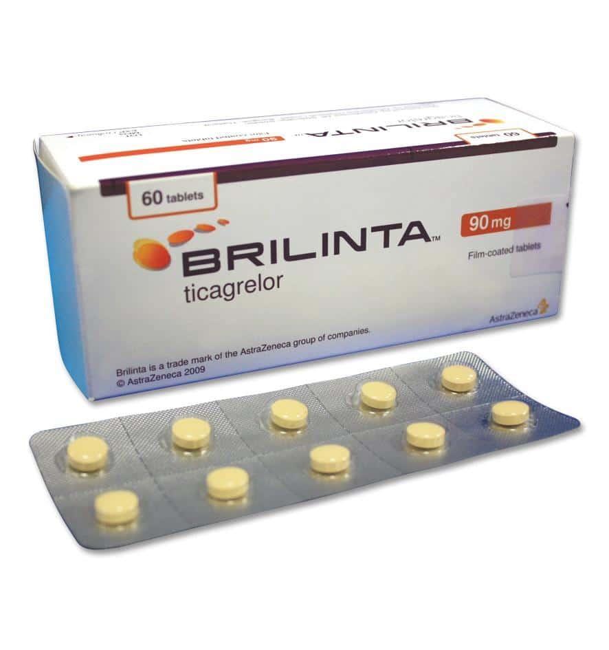 معرفی کامل داروی بریلینتا (Brilinta) یا تیکاگرلور (Ticagrelor)