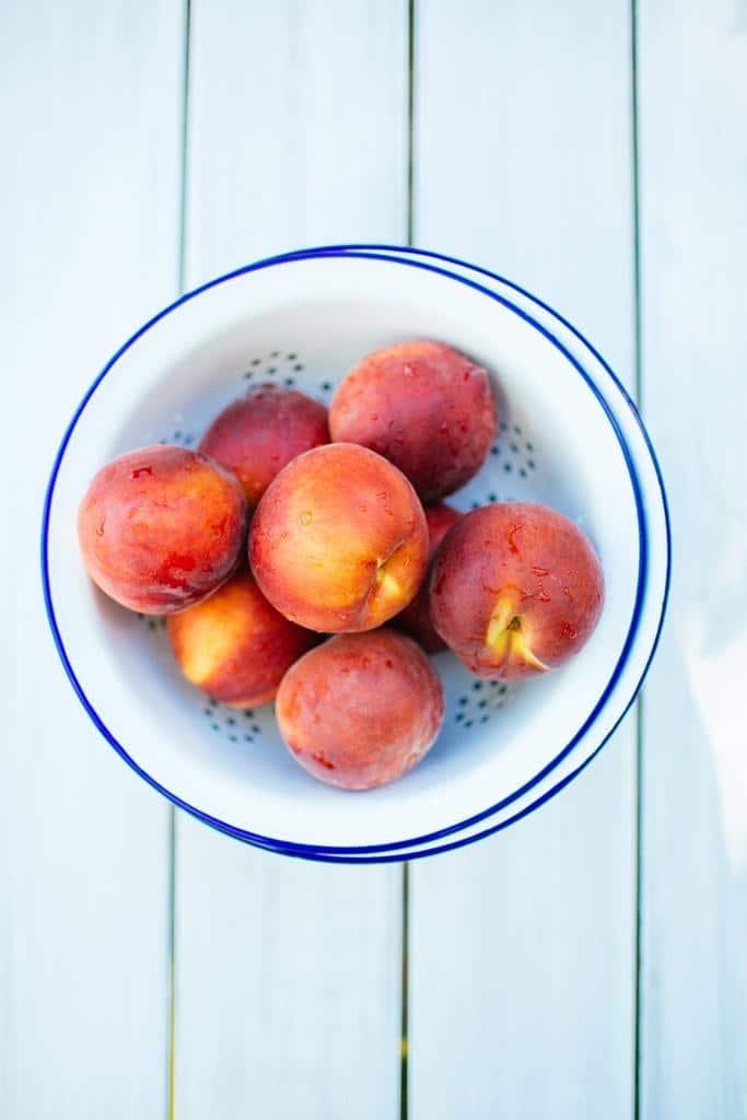 بهترین هلو برای درست کردن هلوهای کبابی