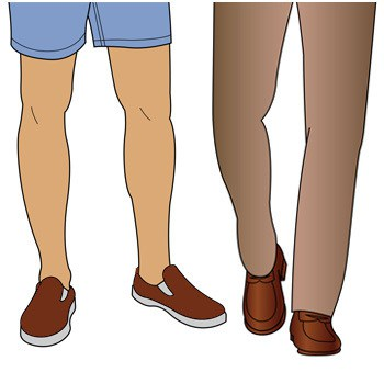 برای ارتقا استایل آقایان باید کمتر کتانی بپوشند
