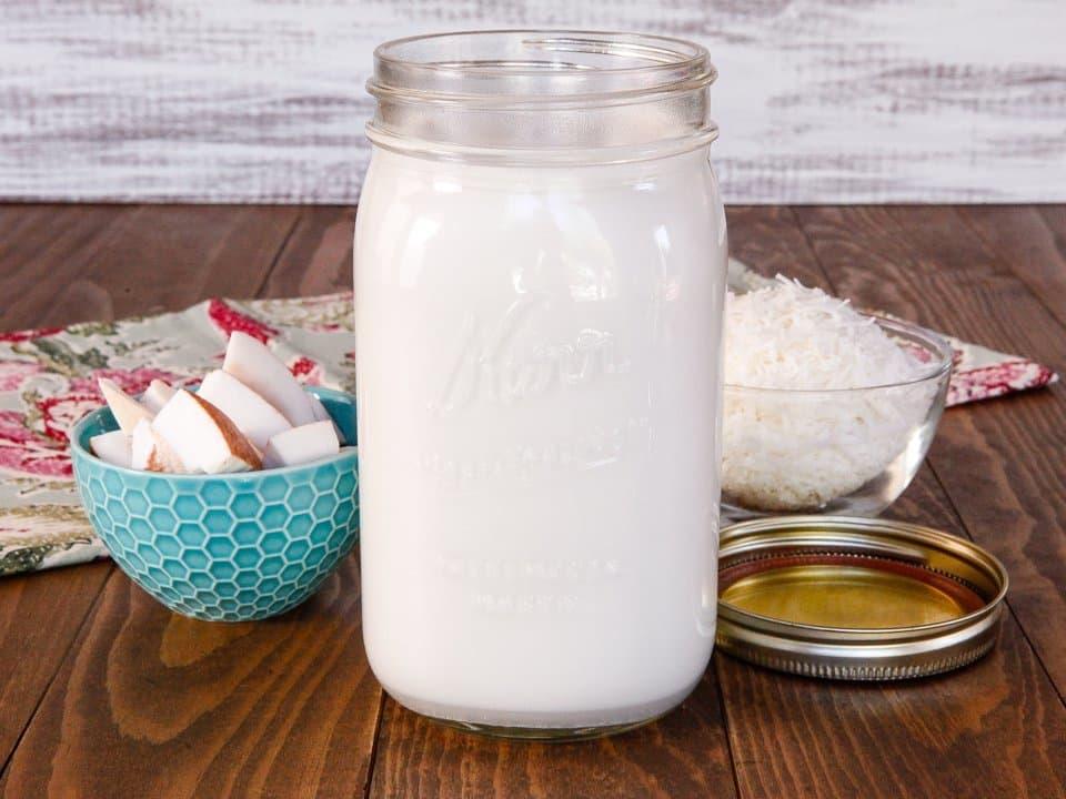 طرز تهیه آرد نارگیل خانگی، آرد بدون گلوتن به همراه شیر نارگیل