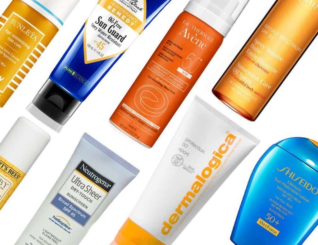 مواد شیمیایی ضد آفتاب