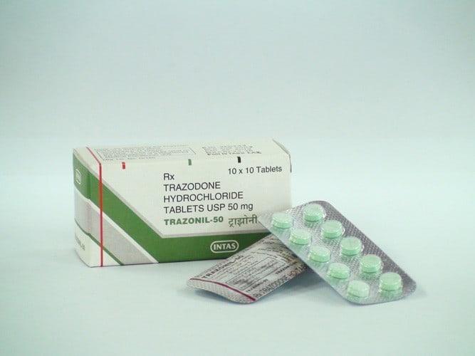 عوارض جانبی داروی ترازودون