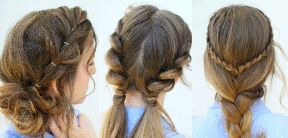 چند مدل موی زیبا و آسان مناسب برای روزهای داغ تابستان