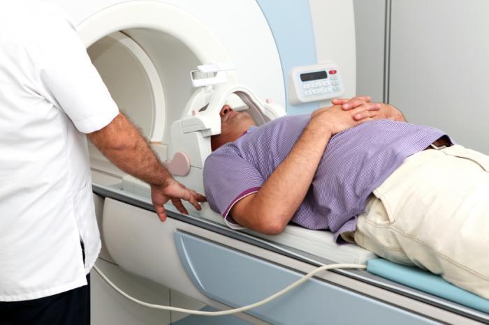 MRI بیمار معتاد تزریقی
