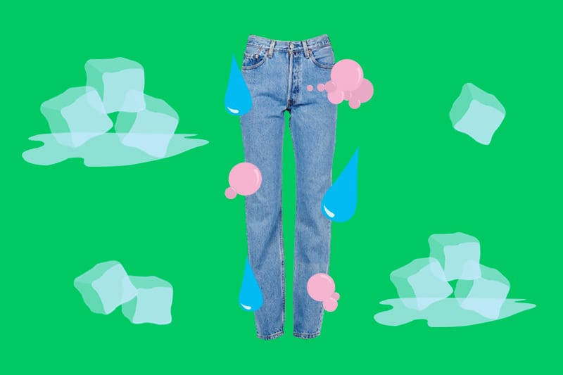 مراقبت از لباسهای گرم لباس جین