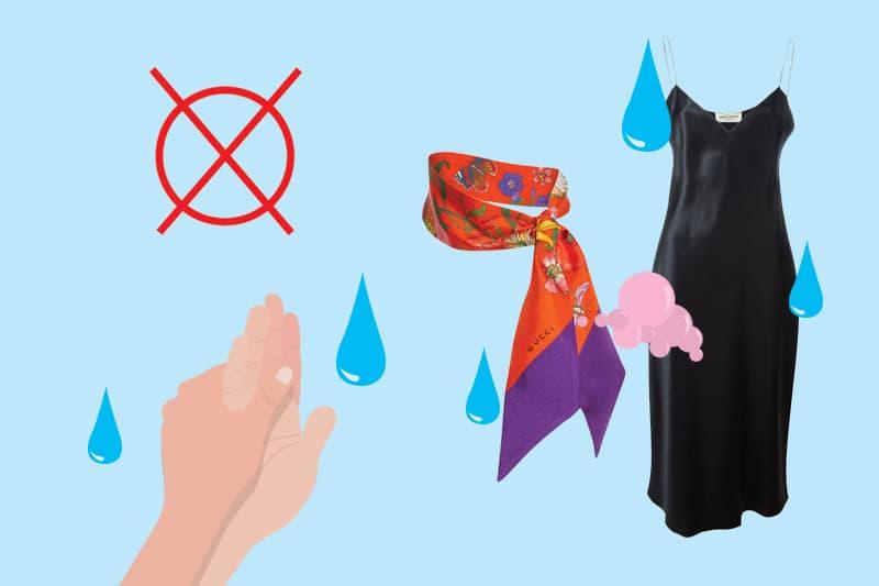 مراقبت از لباسهای گرم ابریشم