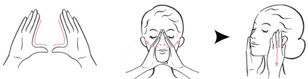 ماساژ ژاپنی برای صورت