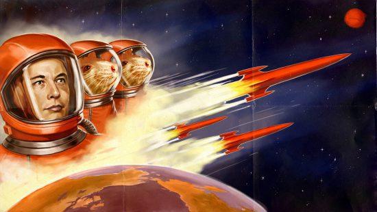 از موشک سواری روی زمین تا تسخیر ماه و مریخ: برنامه های فضایی جدید ایلان ماسک