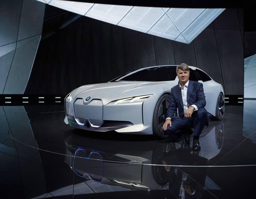 معرفی خودروی BMW i Vision Dynamics