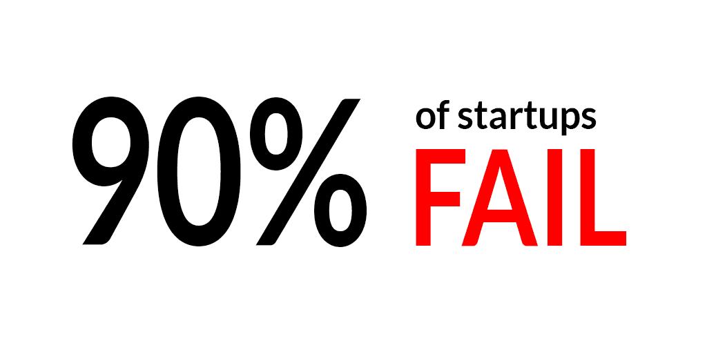 حدود 90% از کسب و کار ها پس از چند سال فعالیت شکست می خورند.