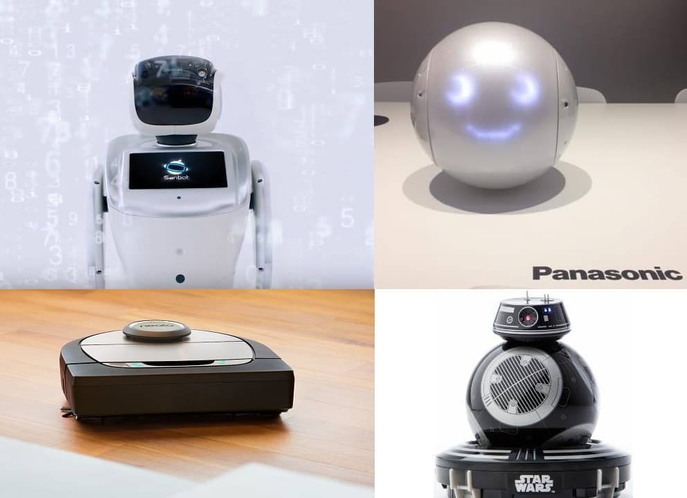 ربات های نمایشگاه