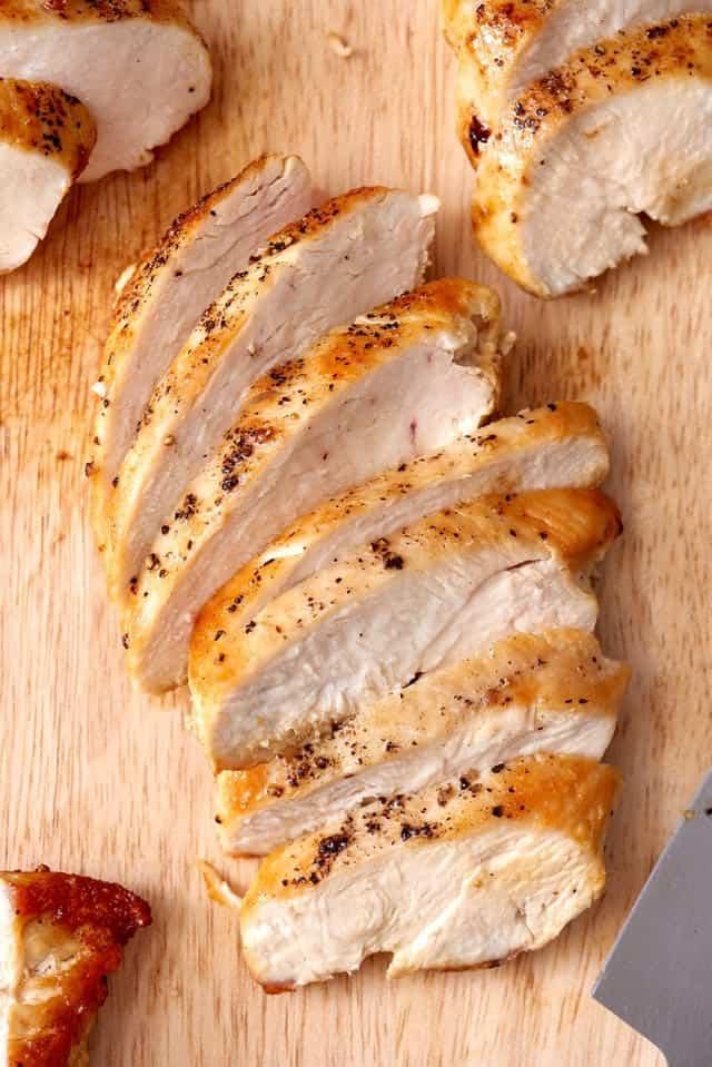 سینه مرغ خرد شده