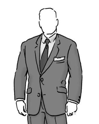 لباس مناسب برای آقایان چهارشانه و قدکوتاه