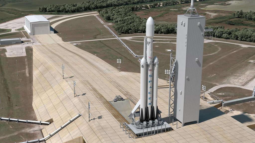 پایان آزمایش موشک سنگین Falcon